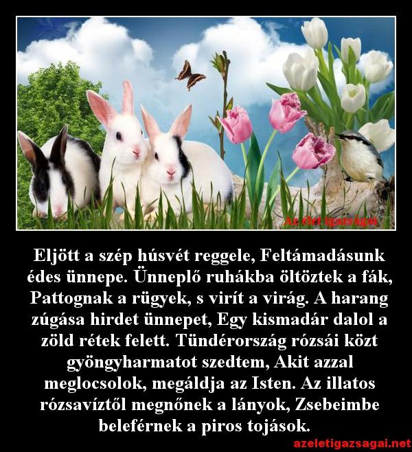 Eljött a szép húsvét reggele