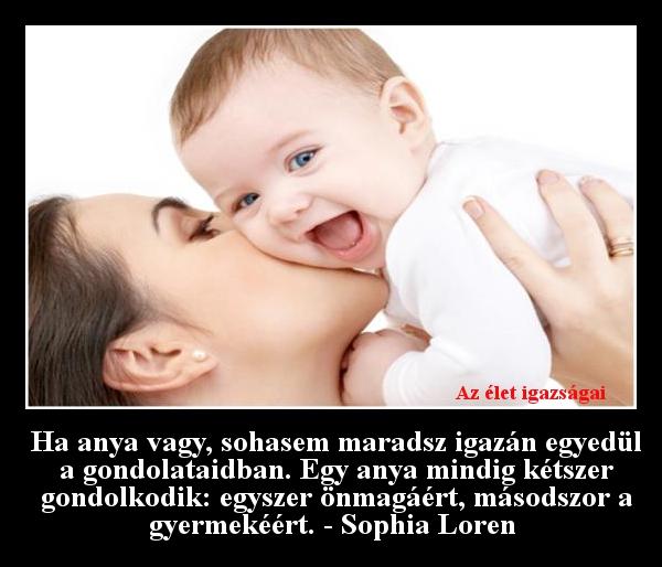 Ha anya vagy, sohasem maradsz igazán egyedül a gondolataidban